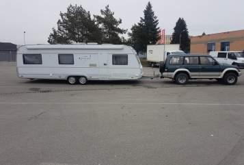 Caravan Knaus Tabbert  Franz Josef in Wilfersdorf huren van particulier