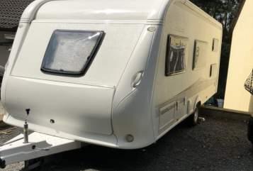 Caravan Hobby Hobby545kmf in Brombachtal huren van particulier