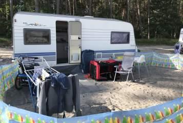 Caravan Hobby Hasardeur in Tiefenbronn huren van particulier