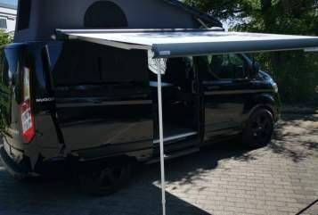 Kampeerbus Ford  Nugget  in Herscheid huren van particulier