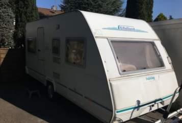 Caravan Eifelland VillaKunterbunt in Geretsried huren van particulier