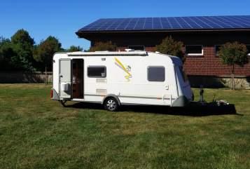 Caravan Knaus Tobi's Camper in Greven huren van particulier