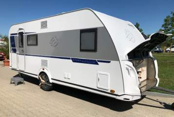 Caravan Knaus Holiday in Augsburg huren van particulier