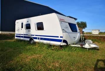 Caravan Dethleffs ComfortCamper in Buchen huren van particulier