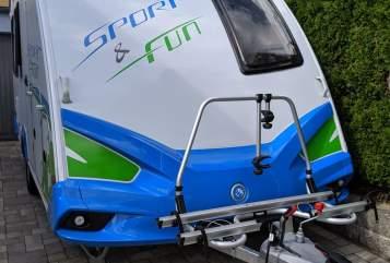 Caravan Knaus Funsport in Lappersdorf huren van particulier
