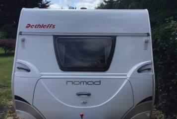 Caravan Dethleffs Luxus Camper in Wegberg huren van particulier