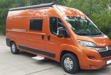 Buscamper Citroen Orange in Berlin huren van particulier