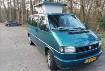 Kampeerbus VW VW Multivan in Utrecht huren van particulier