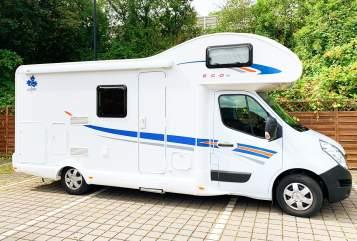 Alkoof Renault Kolumbus in Hannover huren van particulier