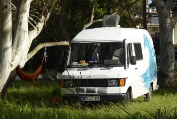 Buscamper Mercedes Bushard in Waakirchen huren van particulier