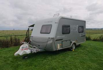 Caravan Hymer Eriba kleiner Hymer in Wilnsdorf huren van particulier