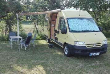 Buscamper Bavaria Camp Minion in Lohr a. Main huren van particulier