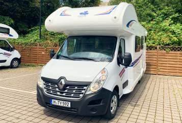 Alkoof Renault Magellan in Hannover huren van particulier