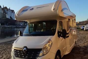 Alkoof Wohnmobil Ahorn Camp A 595 Modell 2019 mit Klima Ben-neu-Klima in Klipphausen huren van particulier
