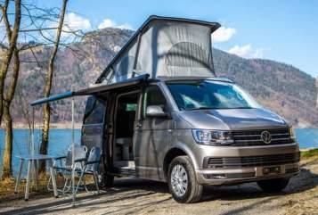 Kampeerbus VW VWT6 California in Am Mellensee huren van particulier
