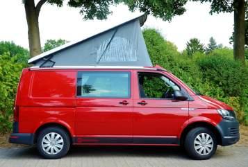 Kampeerbus VW  Red Devil in Bremen huren van particulier