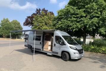 Buscamper Fiat Karmann Karmann Davis  in Langenfeld huren van particulier
