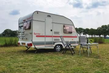 Caravan Beyerland Beyerland 350-2 in Drijber huren van particulier