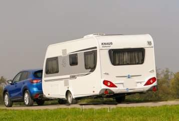 Caravan Knaus JESSY in Lambrecht (Pfalz) huren van particulier