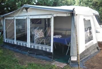 Caravan Hobby - Wohnanhänger Lilli-Fee in Garching a. d. Alz huren van particulier