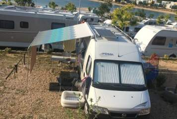 Buscamper Pössl  Andi Camper  in Molbergen huren van particulier