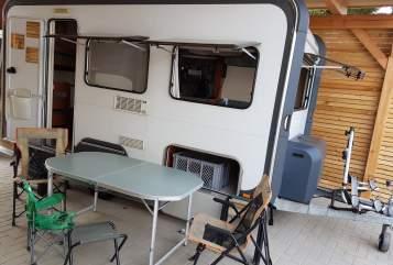Caravan Knaus Wohni in Dresden huren van particulier
