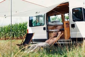 Kampeerbus Fiat  Bonanza  in Herne huren van particulier