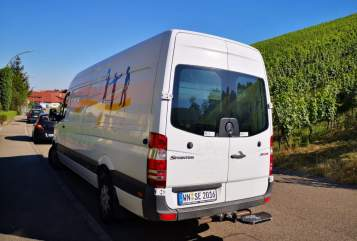 Buscamper Mercedes Benz Sporter in Weinstadt huren van particulier