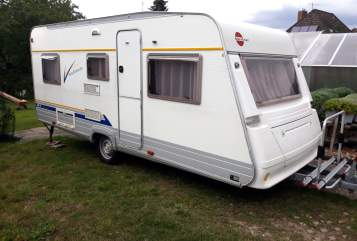 Caravan Bürstner Camper Wolke 7 in Langwedel huren van particulier