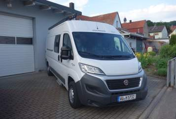 Buscamper Weinsberg Touri I in Sommerhausen huren van particulier