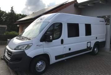 Buscamper Weinsberg Touri II in Sommerhausen huren van particulier