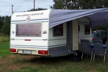 Caravan TEC 4pfotencaravan2 in Moormerland huren van particulier