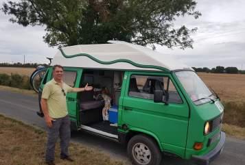 Kampeerbus VW T3 Hochdach Frosch in Köln huren van particulier