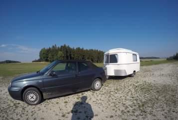 Caravan Eriba Herbert in Landshut huren van particulier