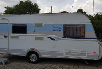 Caravan Knaus Tabbert Sina in Raitenbuch huren van particulier