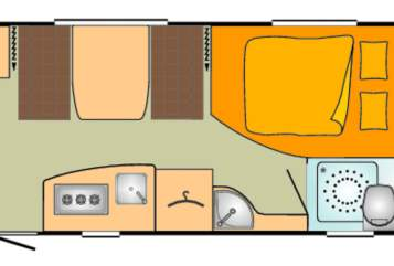 Caravan Bürstner Bürstner 495tk in Pfaffing huren van particulier
