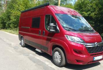 Buscamper Citroen Red  in Berlin huren van particulier