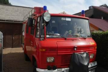 Buscamper Mercedes Benz Ilse in Plaue huren van particulier