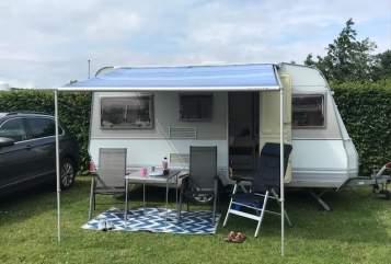 Caravan Dethleffs CampingKoje in Niebüll huren van particulier