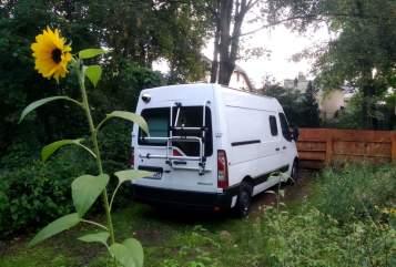 Buscamper Renault DasBettmobil in Hennigsdorf huren van particulier