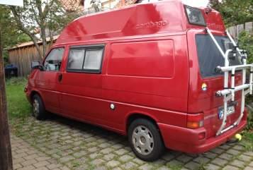 Kampeerbus VW Roter Elefant in Überlingen huren van particulier
