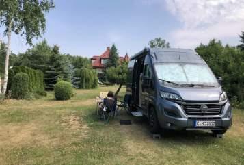 Buscamper Hymer Ayers Rock in Chemnitz huren van particulier