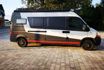 Buscamper Renault master Master in Giengen an der Brenz huren van particulier