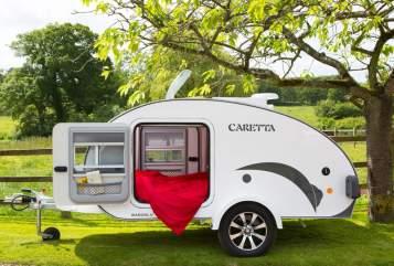 Caravan Basogl. Caretta 1500 Teardrop II in Stuttgart huren van particulier