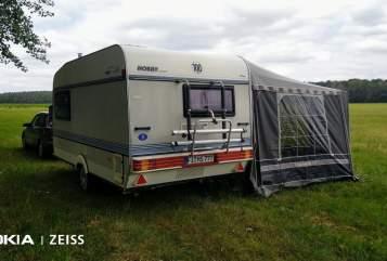 Caravan Hobby  Hobby-Wohnwagen in Doberlug-Kirchhain huren van particulier