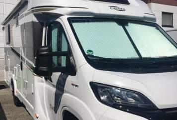 Halfintegraal Carado Freiheits-Mobil in Rodgau huren van particulier
