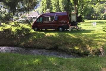 Buscamper Possl  Pössl camper in Nijverdal huren van particulier
