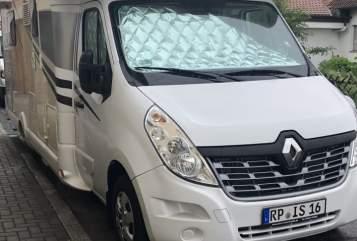 Halfintegraal Renault  Iwo in Altrip huren van particulier