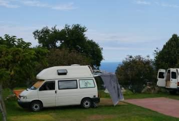 Kampeerbus VW T4 Jolly Jumper in Calw huren van particulier