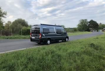 Buscamper Pössl Roadcruiser in Buseck huren van particulier